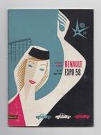Expo 58 - Reneault - Documents Historiques
