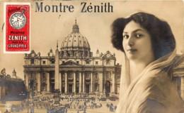 Exposition Paris 1900 - Montre Zénith - Grand Prix - Vignette Publicitaire - Exhibitions