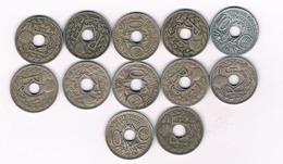 LOT 10 CENTIMES FRANKRIJK /4478/ - F. 25 Centimes