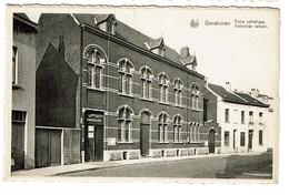 Ganshoren - Ecole Catholique / Katholieke School - Circulée - Edit.  Vanden Meersschaut - 2 Scans - Ganshoren
