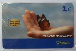 SPAIN - Chip - 1 Euro - P-568 - Cuidamos Tu Confianza - 05/05 - Mint Blister - Spain