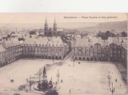 CPA - CHARLEVILLE - Place Ducale Et Vue Générale - Charleville