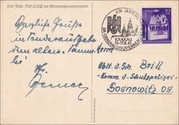 Generalgouvernement (GG): 1 Jahr Generalgouvernement Von Krakau Nach Sosnowitz - Occupation 1938-45