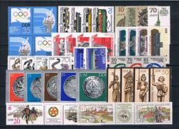 (037) DDR Posten/Lot Mit Kpl Sätzen **postfrisch - Lots & Kiloware (mixtures) - Max. 999 Stamps