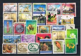 (055) Papua-Neuguinea Posten/Lot Gestempelt - Papua-Neuguinea