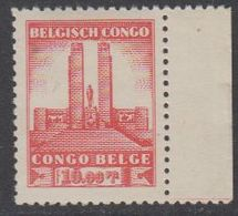 Belgisch Congo 1941 Monument Koning Albert I Te Leopoldstad 10Fr  1w Bladboord (see Scan) ** Mnh (42933N) - 1923-44: Ongebruikt