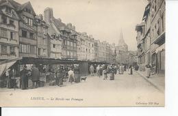 LISIEUX  Le Marche Aux Fromages - Lisieux