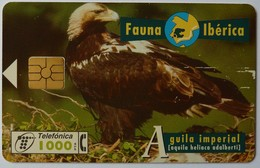 SPAIN - Chip - 1000 Units - B-050 - Fauna - Aguila Imperial - 05/96 - Used - Spain