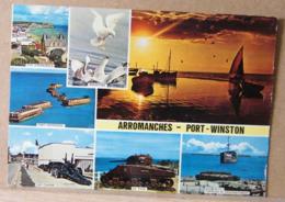 AARROMANCHES PORT WINSTON, VEDUTINE VIAGGIATA - Arromanches