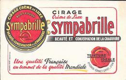 Cirage Crème De Luxe SYMPABRILLE Ste Corde-Gonnet-Gayet - LYON - Carte Assorbenti