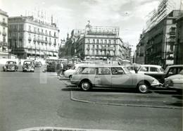 50s ORIGINAL AMATEUR PHOTO FOTO MADRID ESPANA SPAIN CITROEN DS BREAK TUBARON - Places