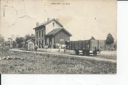 PREURES   La Gare  1917 - France