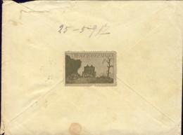 1917-lettera Con Bollo Posta Militare Ufficio C.L. E Bel Chiudilettra Dell' VIII Autoreparto - Storia Postale