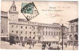 CPA ITALIE.BOLOGNA.PIAZZA VITTORIO EMMANUELE II - Italie