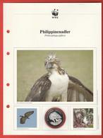 30 JAHRE WWF Silber Gedenkmünze Silver Coin / Ag 999 PP / Vögel Birds Oiseaux Philippinenadler Pithecophaga Jefferyi - Münzen