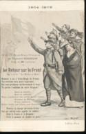 1914 - 1915 --  Le Retour Sur Le Front - Patriottisch