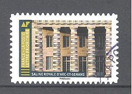 France Autoadhésif Oblitéré (Histoire De Styles Architecture - Saline Royale D'Arc Et Senans) (cachet Rond) - France