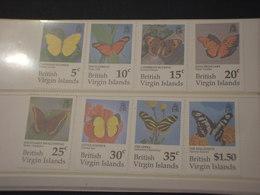 VIRGIN - 1991 FARFALLE 4+4 VALORI  - NUOVO(++) - British Virgin Islands
