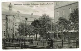 Hamont - Pensionnat Bethléem - Religieuses Ursulines - Les Cours De Jeu - 1908 - Uitg. C.G. Weers - 2 Scans - Hamont-Achel
