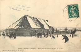 14 - PONT L'EVEQUE - Herbage Des Hunières - Maison Du Gardien - Bataille De Neige 1910 - Pont-l'Evèque