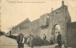 14 - VIERVILLE SUR MER - Entrée Animée De La Ferme De L'Ormel En 1917 - France
