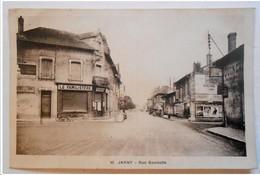 """54 . JARNY . Rue Gambetta       """" Le Familistère  -  Pubs Anciennes - Tacots  """" - Jarny"""
