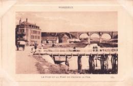 62 - Pas De Calais - WIMEREUX -   Le Port Et Le Pont Du Chemin De Fer - France