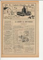 3 Scans La Légende De Saint-Nicolas Récit De Jules De Marthold Repassage Fer à Repasser Humour Rouleau à Vapeur 226CH5 - Vieux Papiers