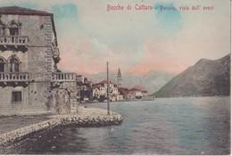 CG606   --   PERASTO   --  BOCCHE DI CATTARO  --  STENGEL Nr. 5054 - Montenegro