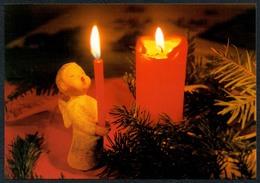 C5860 - TOP Glückwunschkarte Weihnachten - Engel Angel Lichterengel - Christine Fischer - Altri