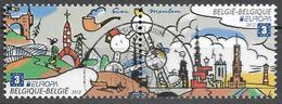 2012 Belgien Mi. 4262-3 Used Bloc Stamp    Europa - Europa-CEPT