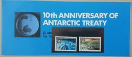 Australian Antarctic Territory 1971. 10th Anniversary Of Antarctic Treaty. Stamp Set. MNH - 1966-79 Elizabeth II