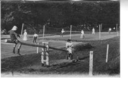 VEULES LES ROSES  Jeux De Tennis - Veules Les Roses