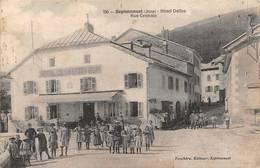 Septmoncel Canton Saint Claude Hôtel Dalloz - Septmoncel