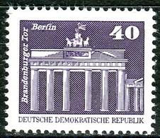 DDR - Mi 2541 - ** Postfrisch (A) - 40Pf     Aufbau In Der DDR Kleinformat - [6] Repubblica Democratica