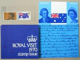 Australia 1970. Royal Visit. Stamp Set. MNH - 1966-79 Elizabeth II