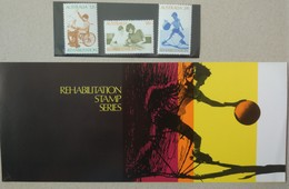 Australia 1972. Rehabilitation. Stamp Set. MNH - 1966-79 Elizabeth II