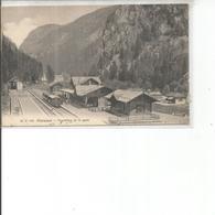 CHATELARD FRONTIERE ET LA GARE - Suisse