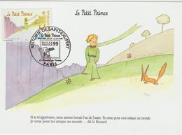 Carte Maximum FRANCE N°Yvert 3176 (LE PETIT PRINCE)  Obl Sp Ill 1er Jour (Ed Voyage Dans L'Image) - 1990-99