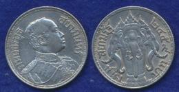 Thailand 1 Baht 1910-1925 Ag800 15g - Thailand
