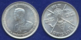 Thailand 20 Baht 1963 Bhumipol Ag 19,8g - Thailand