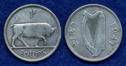 Irland 1 Shilling 1941 Ag750 5,6g - Ireland