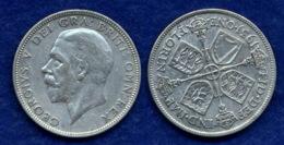 Großbritannien 1 Florin 1931 Georg V. Ag500 11,3g - 1902-1971 : Post-Victorian Coins