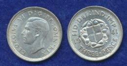 Großbritannien 3 Pence Georg VI. 1941 Ag500 1,4g - 1902-1971: Postviktorianische Münzen