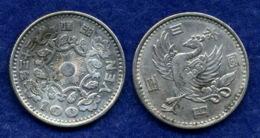 Japan 100 Yen 1957/58 Ag 600 4,8g - Japan