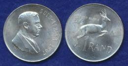 Südafrika 1 Rand 1967 Verwoerd Ag800 15g - South Africa
