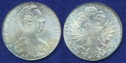 Österreich  1780 Maria-Theresientaler Ag800 Replik - Oesterreich