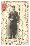 Carte Postale Ancienne Russie Types De Russie - Officier De Police 36 - Russie