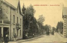 70 LUXEUIL LES BAINS / L'Avenue De La Gare./ A 446 - Luxeuil Les Bains