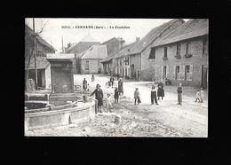 C.P.A. DE CERNANS 39 - France